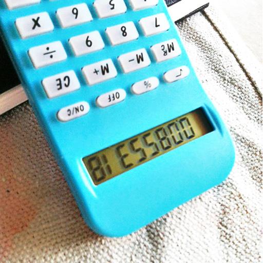 Bless Boo (calculator writing) via lilblueboo.com