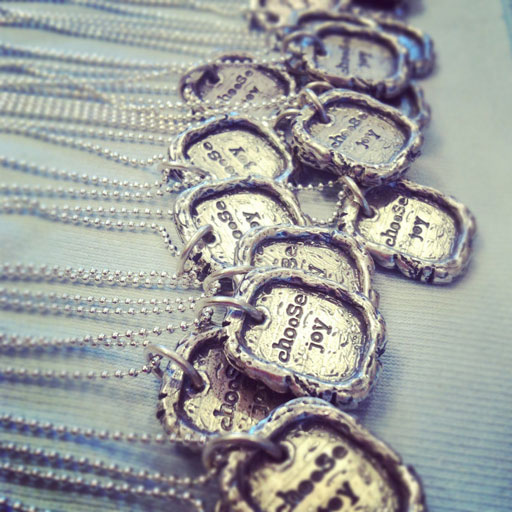Today I Choose Joy: Choose Joy Necklace via lilblueboo.com #choosejoy