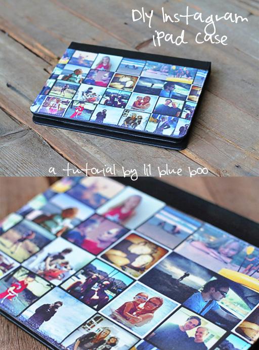 How to Make a Custom Instagram iPad Cover via lilblueboo.com