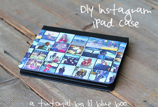 instagram ipad case tutorial via lilblueboo.com