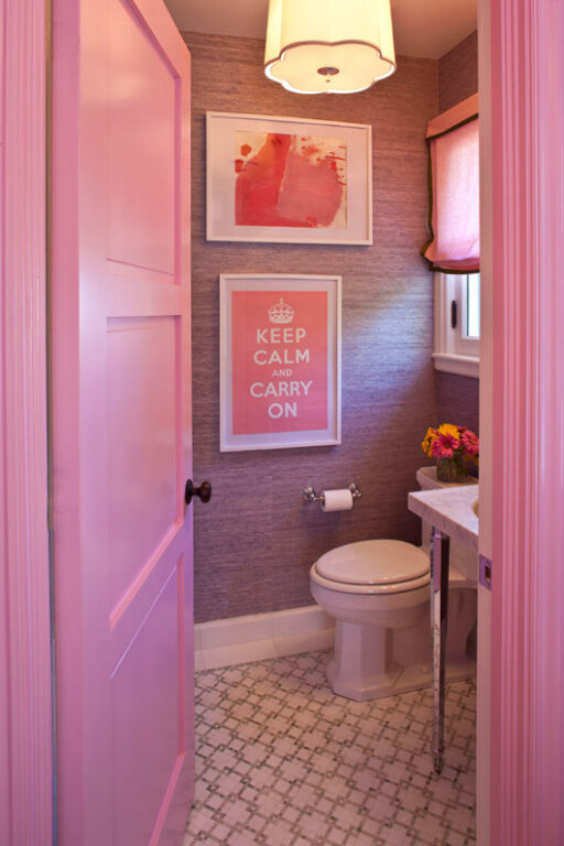 Budget friendly home renovation ideas: bathroom update via lilblueboo.com