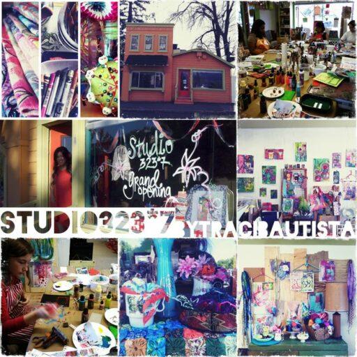 Traci Bautista Art Journaling Studio via lilblueboo.com #artjournaling