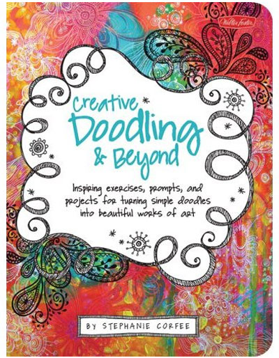 Creative Doodling & Beyond by Stephanie Corfee via lilblueboo.com #artjournaling #scrapbooking #theliljournalproject