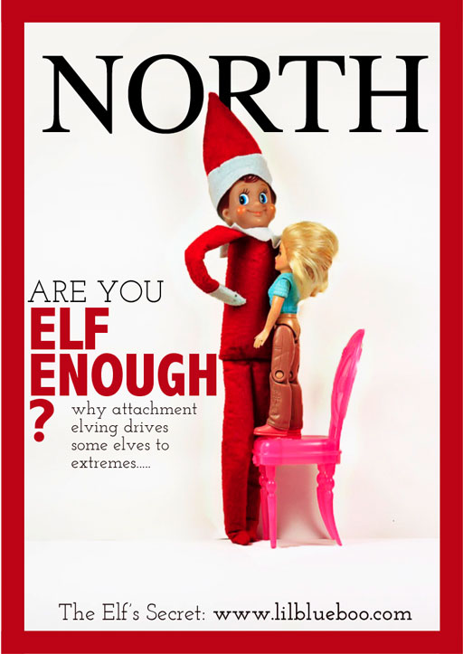 Are You Elf Enough? via lilblueboo.com