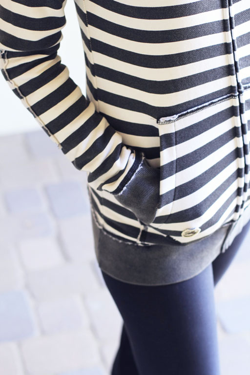 DIY Sweatshirt Makeover ideas via lilblueboo.com