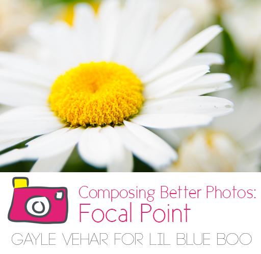 Composing Better Photos: Focal Point via lilblueboo.com
