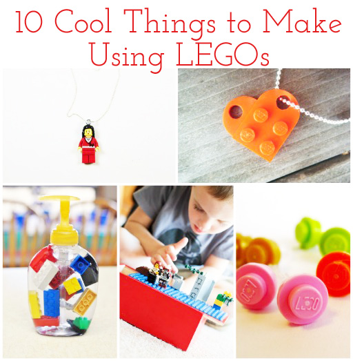 10 Cool Things to Make Using LEGOs via lilblueboo.com
