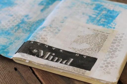 Magazine image transfer via lilblueboo.com