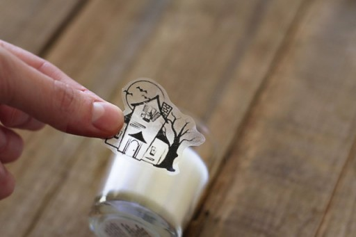 how to use transfer tape on glass
