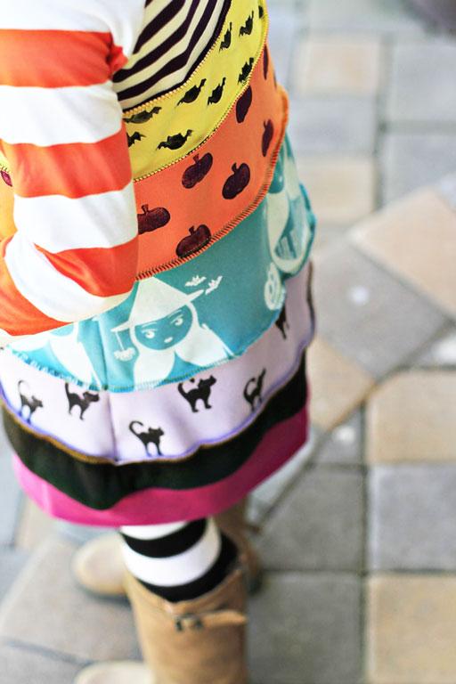 Foam Sticker Stamp and Upcycled T-Shirt Dress via lilblueboo.com