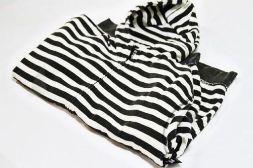 A bulky sweatshirt ready to upcycle via lilblueboo.com