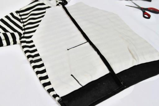 DIY Hoodie refashion tutorial via lilblueboo.com