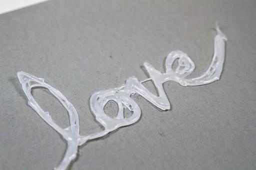 How to make a hot glue stencil via lilblueboo.com