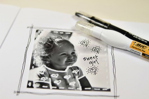 Photography Doodle Frames via lilblueboo.com #artjournaling #scrapbooking #theliljournalproject