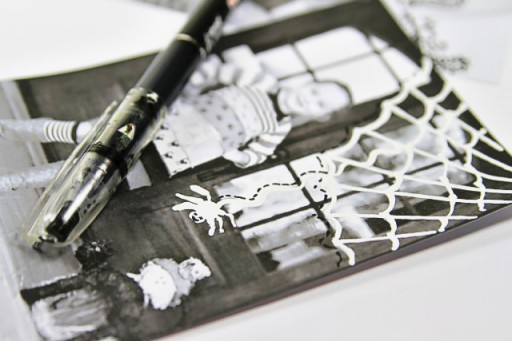 How to Doodle via lilblueboo.com #artjournaling #scrapbooking #theliljournalproject