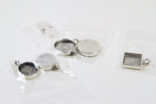 Where to Buy Silver DIY Pendants for Resin or Epoxy via lilblueboo.com