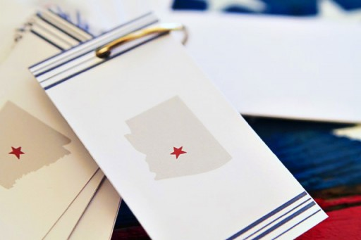 DIY States and Capitals Flashcards via lilblueboo.com #teaching #states #learning #teachers