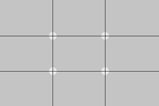 Using the Rule of Thirds via lilblueboo.com