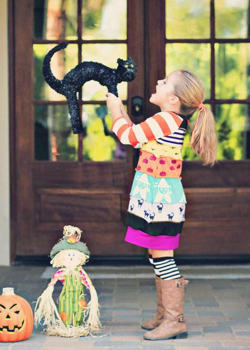 Pieced Dress style via lilblueboo.com