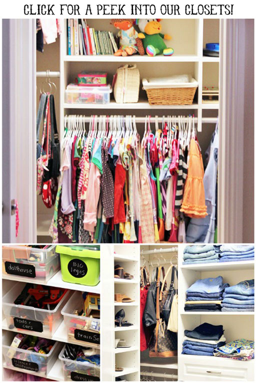 A peek into my closet via lilblueboo.com