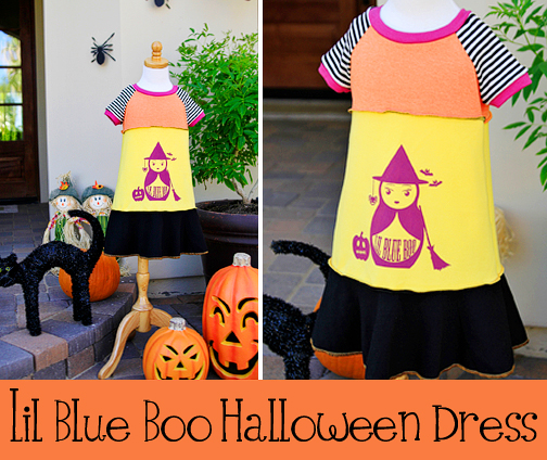 limited edition halloween dress via lilblueboo.com