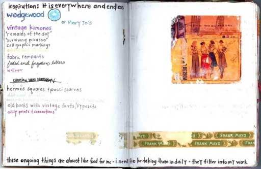 inspiration journal page via lilblueboo.com