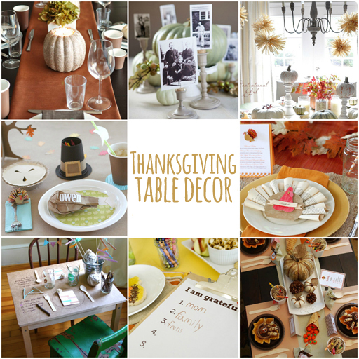 Thanksgiving table ideas via lilblueboo.com