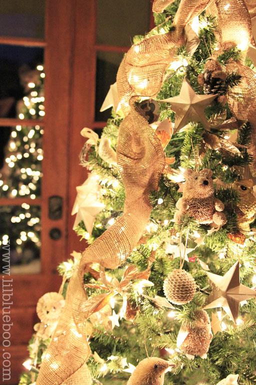 Christmas Tree Inspiration via lilblueboo.com (Michaels Dream Tree Challenge)