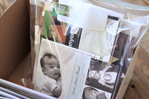 How to organize and store family memories via lilblueboo.com