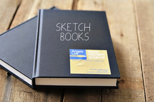 Where to buy small sketchbooks via lilblueboo.com