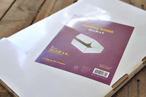 Mailing boxes for crafts via lilblueboo.com