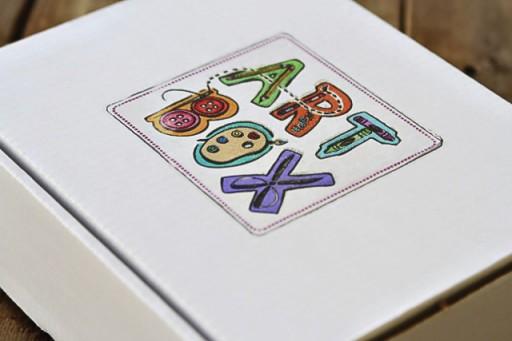 TAP projects: Iron paper onto cardboard via lilblueboo.com