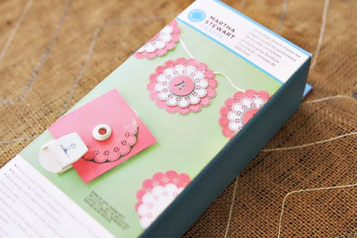 The Circle Edge Punch by Martha Stewart Crafts via lilblueboo.com