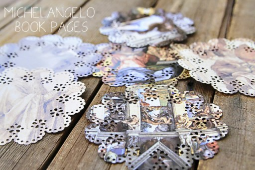 How to make your own doilies via lilblueboo.com #diy #doily #marthastewart