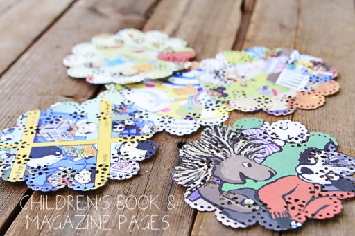 Recycled children's book ideas via lilblueboo.com #diy #recycled