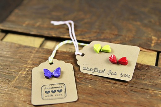 Gift Tag Ideas and Packaging Idea via lilblueboo.com