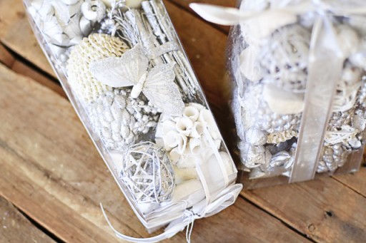 Potpourri as Christmas Ornaments! via lilblueboo.com
