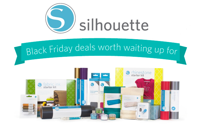 silhouette black friday deals via lilblueboo.com