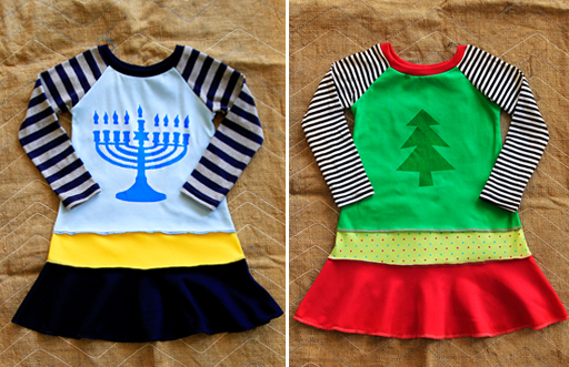 holiday dresses via lilblueboo.com