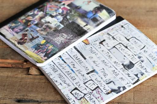 Transfer Paper Journal via lilblueboo.com