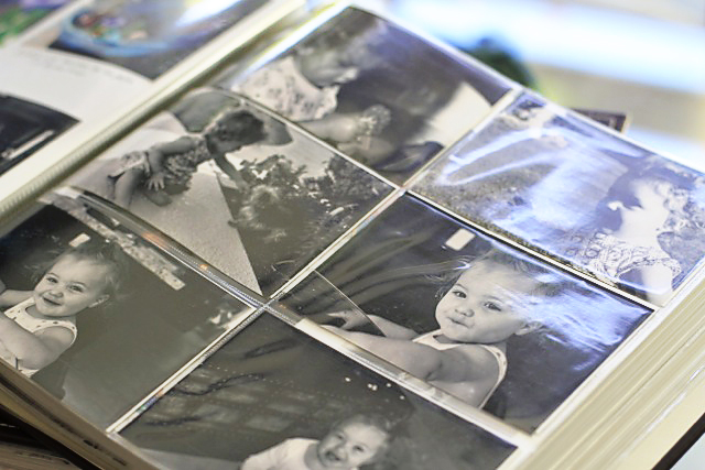 4x6 photo sleeves combined with regular pages via - 4x6 Photo Albums
