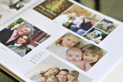 Storing Christmas Cards via lilblueboo.com