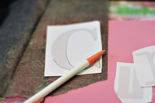 How to transfer letters via lilblueboo.com