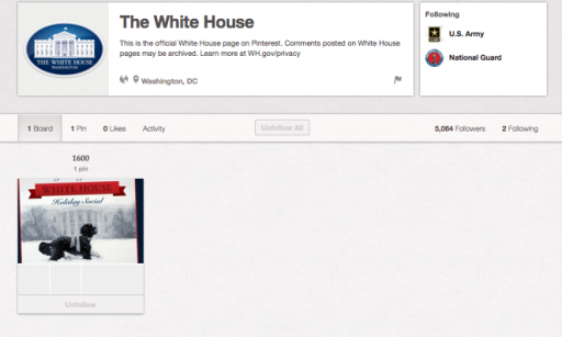 The White House on Pinterest via lilblueboo.com