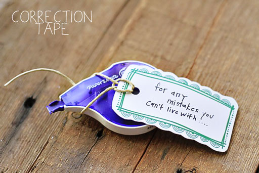 Correction Tape for Art Journaling via lilblueboo.com