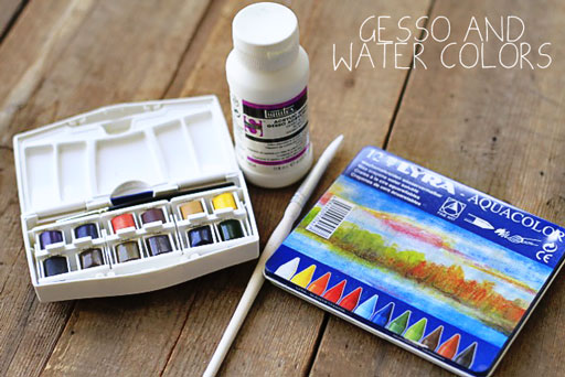 Art Journaling Starter Kit via lilblueboo.com