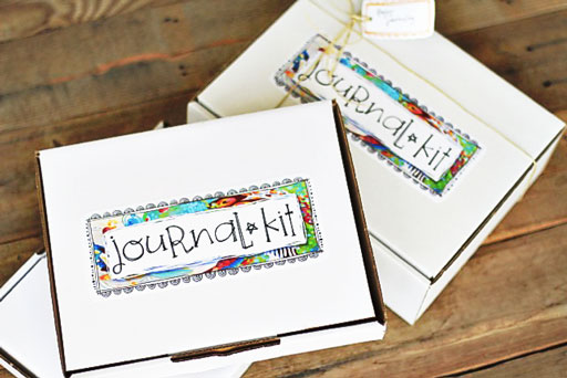 DIY Journal Kit with Label Downloads via lilblueboo.com