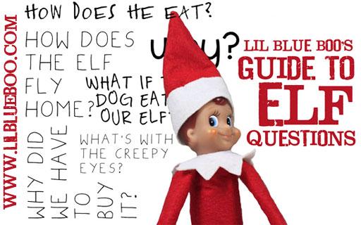The Guide to Elf on the Shelf Questions via lilblueboo.com #elfontheshelf