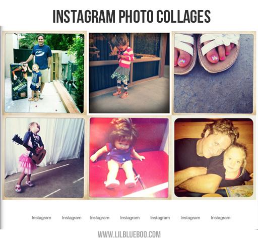 Printing Instagram Photo Books via lilblueboo.com