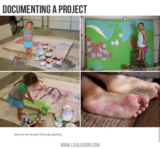 Picture Book Ideas: document a project via lilblueboo.com